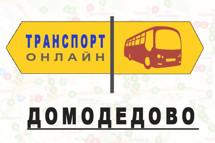 Яндекс транспорт онлайн Домодедово