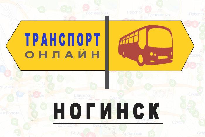 Яндекс транспорт онлайн Ногинск