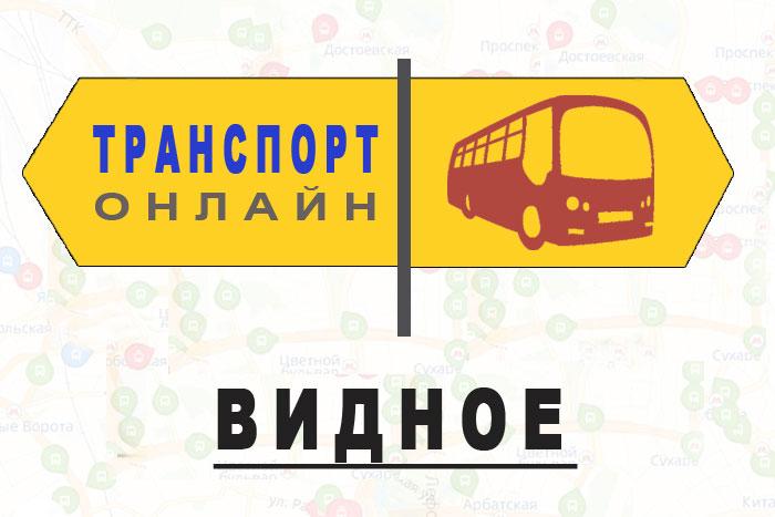 Яндекс транспорт онлайн Видное