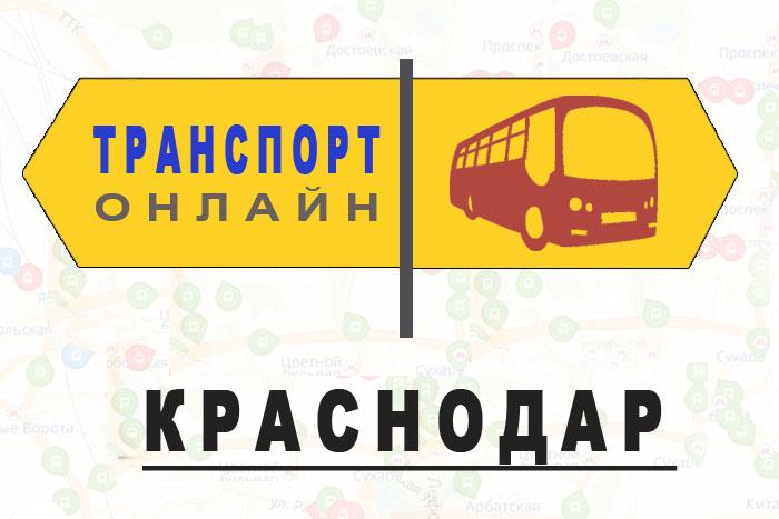 Яндекс транспорт онлайн Краснодар